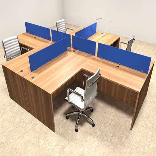 Four Seater Workstation Table in Lagos | Four Seater Workstation Table in Nigeria