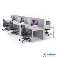 Beach Six Person Workstation Table in Lagos Nigeria