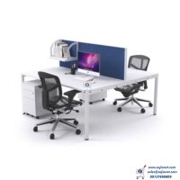 Nigeria Double Workstation Table