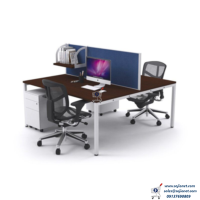 Double Workstation Table in Lagos